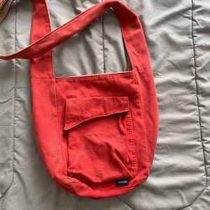 Kavu dark coral/orange cross body bag